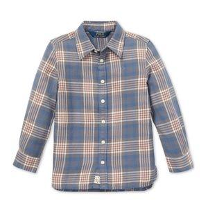 Ralph Lauren Plaid tunic shirt girls SZ6